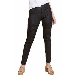 [Modcloth] High Waisted Moto Jeans
